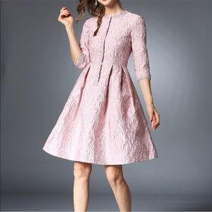 Dresses & Skirts - Pink 3/4 length cocktail dress